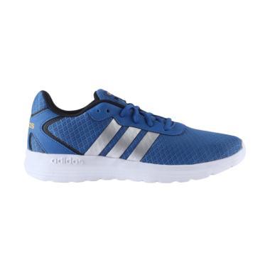 adidas Original Cloudfoam Speed Sepatu Lari Pria - Blue [AW4912]