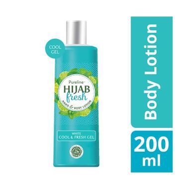 Hijab Fresh Cool & Fresh Gel Hand & Body Lotion [200 mL]
