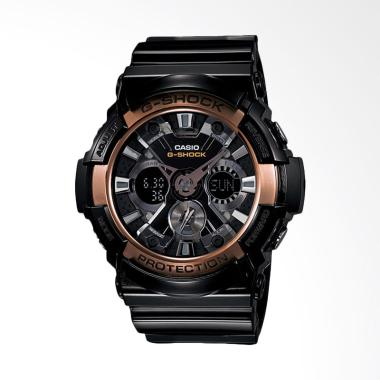 Casio G-Shock Analog Digital Jam Tangan Pria - Gold [GA-200RG-1ADR]