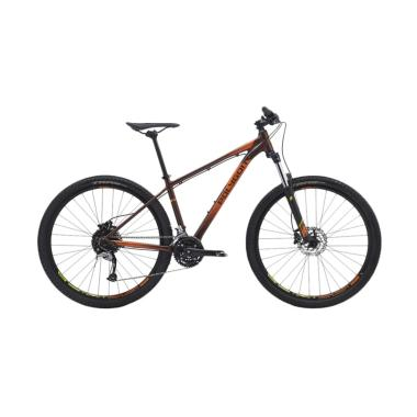 Polygon Premier 5.0 Sepeda - Brown Orange [27.5 Inch]
