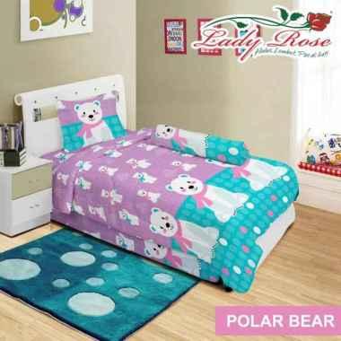 Sprei Lady Rose - Polar Bear Multicolor 90 x 200
