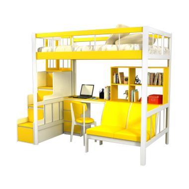 Funkids Porchia 01-120 TL Tempat Tidur Anak - Lemon