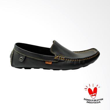 Dr.faris Moccasin Loafers Kulit Original 02 Sepatu Pria