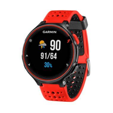 Garmin Forerunner 235 Smartwatch - Black Red