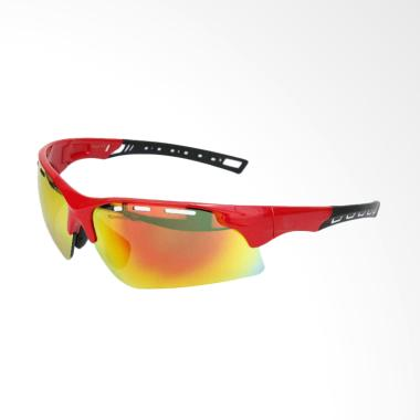 Eyewear Revo PC Lens Sport Sunglasses - Red