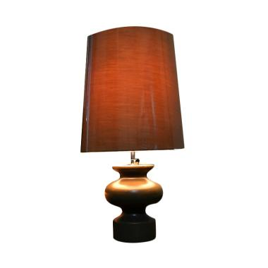 Hermosa Home Decor  Vase Table Lamp Lampu Meja - Brown