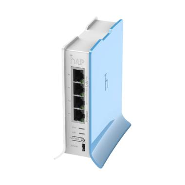 Mikrotik RB941-2nD-TC Router HAP Lite - Blue White