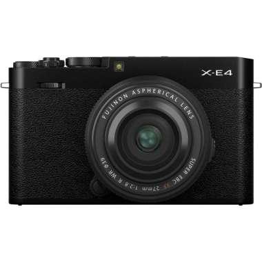 harga Gudang Digital- Fujifilm XE4 X-E4 Kit 27mm F2.8 R WR Fuji XE4 X-E4 Kamera Mirrorless Garansi Resmi Black Blibli.com
