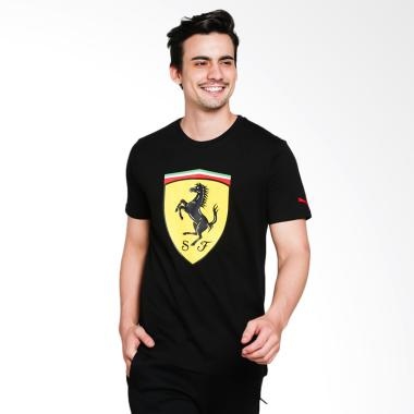 PUMA Men's Ferrari Big Shield T-Shirt Pria [762139 02]