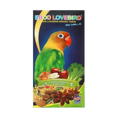 EBOD JAYA Makanan Harian Burung Lovebird [Kemasan Kotak]