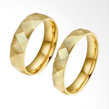 CDHJewelry CC107 Titanium Anti Kara ...  Gold [Female 6 & Male 9]