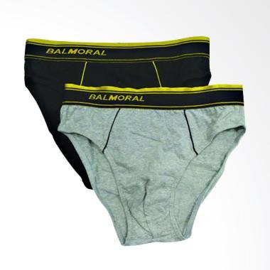 BALMORAL Boxer Underwear Celana Dalam Pria [BSP 18/Size S]
