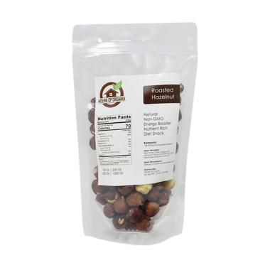 House of organix Roasted Hazelnut Kacang [1 Kg]