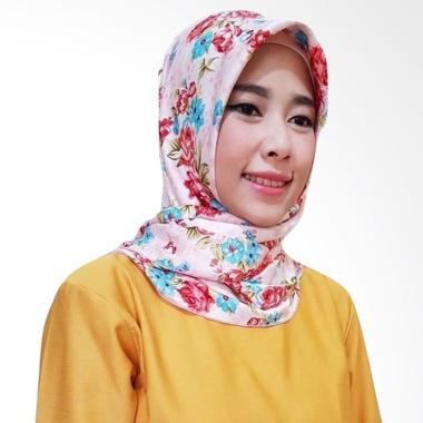 Gita Sukma Sakura Hijab Segiempat - Pink Rose