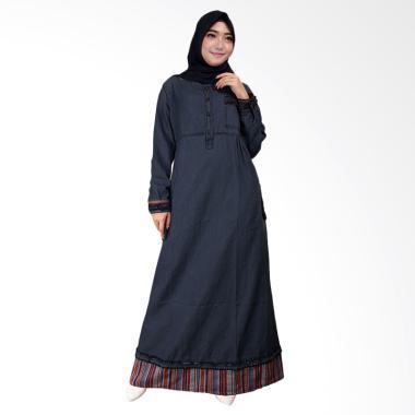 Adore Ladies 491646 Lengan Panjang Gamis - Dark Blue