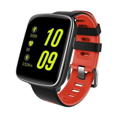 KingWear GV68 Smartwatch - Merah [I ... luetooth 4.0/ Heart Rate]