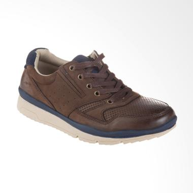 Jim Joker Casual Shoes Dale 3CA Sepatu Pria - Coffee