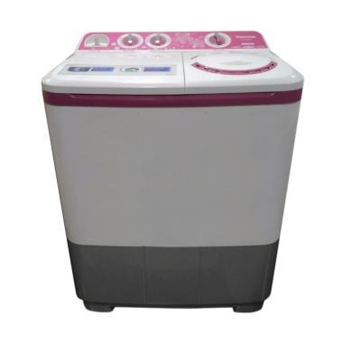 Panasonic NAW85BBY1V Mesin Cuci - Pink [Khusus Jadetabek/ 2 Tabung]