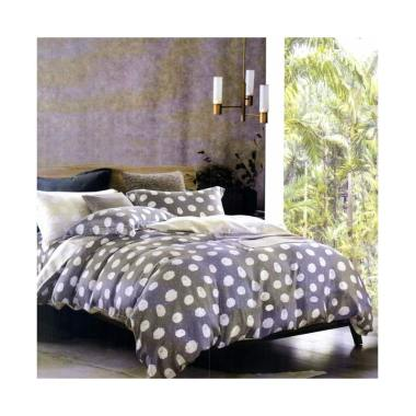 Melia Bedsheet S-0253 Sutra Organic Set Sprei - Grey