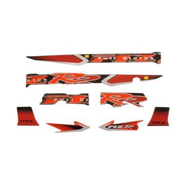 harga Idola Striping Aksesoris Body Motor for FIZR Full Clutch 2002 - Hitam Orange Blibli.com