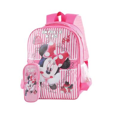Inficlo SDC964 Mini Mouse Tas Anak Perempuan - Pink