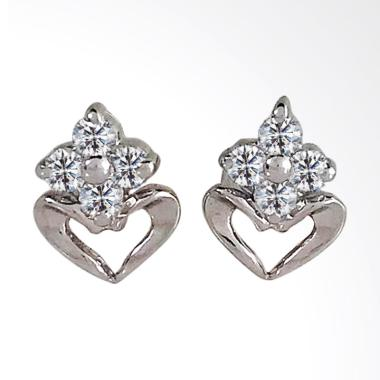 Lavish E17476 Anting Berlian Emas Putih [18K]