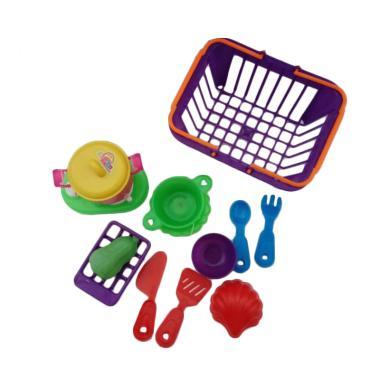 MGL Toys K 100 Keranjang Masak-Masakan Kitchen Set Mainan Anak