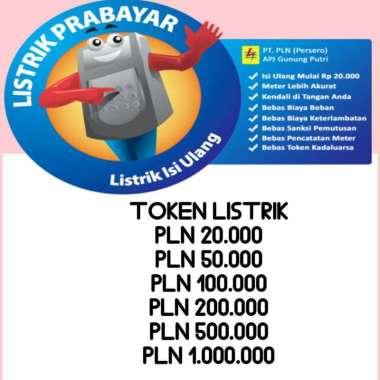 harga Token listrik Blibli.com