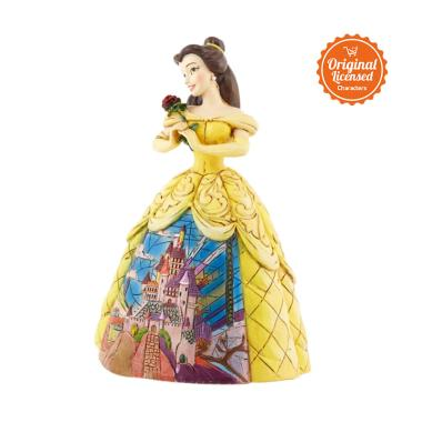 Disney Traditions Belle with Castle Dress Figurine