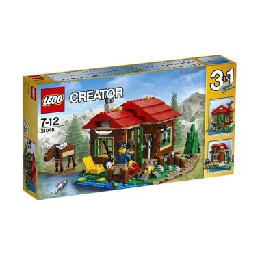 LEGO 31048 Creator Lakeside Lodge Mainan Blocks