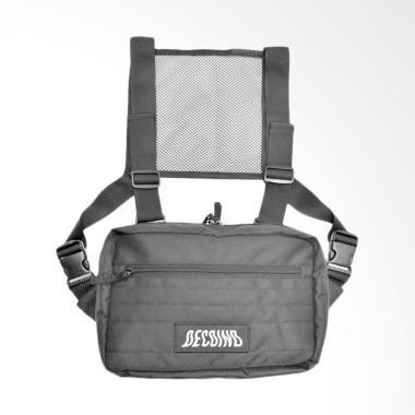 Deco.Ind Flut Chest Bag - Hitam