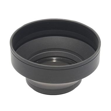 Phottix 3-Stage Collapsible Rubber Lens Hood [72 mm]
