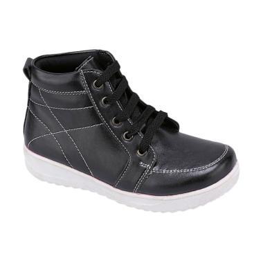 Syaqinah 061 Sepatu Sneaker Anak Laki-Laki - Hitam