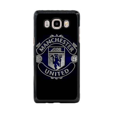 Cococase Black Manchester United Logo J0262 Casing For Samsung Galaxy J7 2016
