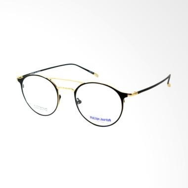 Phillipe Jourdan Titanium Bulat Fra ... Pria - Black Gold  9037  97d873b83a
