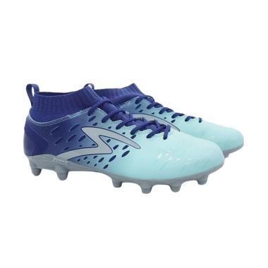 Specs Barricada Magna Sepatu Sepakbola - Blue [100774]