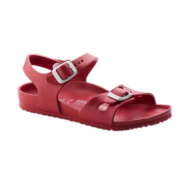 Birkenstock 126133 Rio Eva Kids Sepatu Sandal Anak - Red