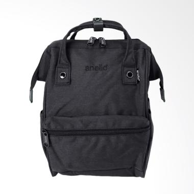 Anello Backpack High Density Polyester Mini Size AT-B2264 - Black