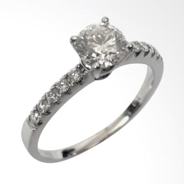 Pentacles SRK1481 White Gold Ring With Diamond