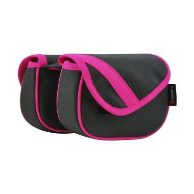 Walco Design Pink Series Frame Pannier - Dark Grey Pink [W0901-PK]