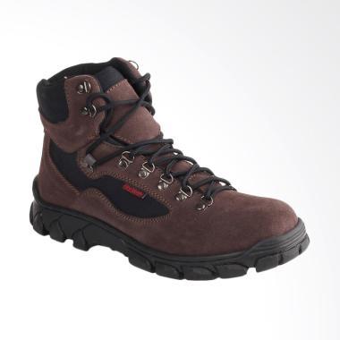 Blackkelly Boots Shoes Sepatu Pria - Coklat [BLK-LLX 482]