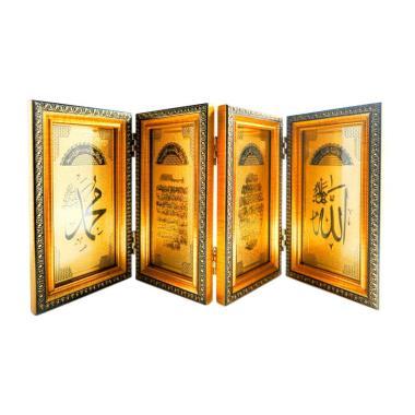 OEM DF-888-4 Display Meja Aksen Dekorative - Gold