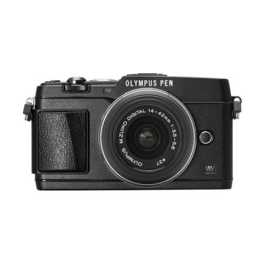 Olympus PEN E-P5 KIT 14-42mm IIR Kamera Mirrorless - Black