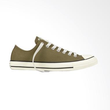 Converse Ox Chuck Taylor All Star Sneaker Sepatu Pria - Olive - Green