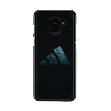 new concept d71e4 b10d3 Guard Case Adidas Brand O1213 Custom Hardcase Casing for Samsung Galaxy A8  2018 Plus