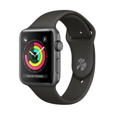 Apple Watch Series 3 42mm Aluminium Sport Band Smartwatch Black