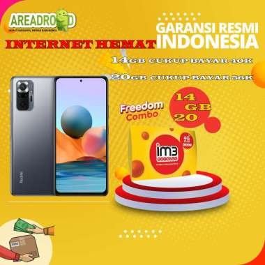 harga Xiaomi Redmi Note 10 Pro [6/64 GB] Redmi Note 10 Pro 6 GB 64 GB Bundle Indosat Garansi Resmi Bundle 14GB Blibli.com