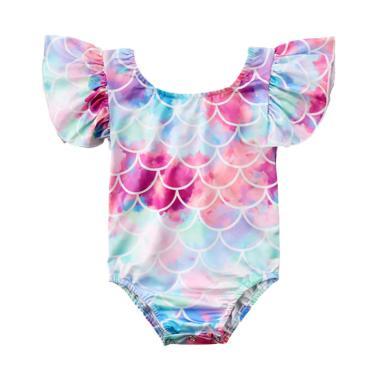 Abby Baby Mermaid Swimwear Baju Renang Anak