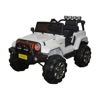 Junior ME-0905 Jeep Rubicon Ride On ... Aki - White [Jabodetabek]