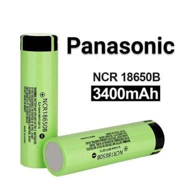 harga PANASONIC NCR18650B | 3400mAh | 18650 Baterai - Battery | 4.87A (Kode 005)) multicolor Blibli.com
